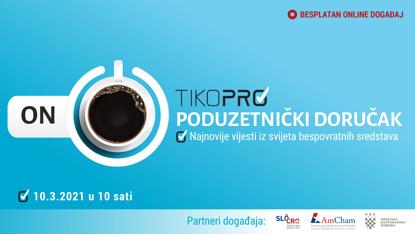 Fotografija proizvoda Tiko Pro VIDEO - Poduzetnički doručak 2021